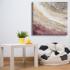 Hued Lines Abstract Heavy Texture Canvas vignette for Diy Wall Decor