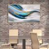 Gilding Birds Abstract Modern Framed Heavy Texture Handmade Canvas Artwork for Dining Room Wall Flourish