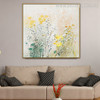 Little Blooms Abstract Modern Framed Handmade Canvas Art for Room Wall Finery