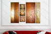 Heavy Textured Oil Painting - 6 Panel