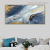 Vibrant Abstract Handpainted Canvas for Room Wall Decoration