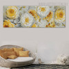 Floral Plant Abstract Floral Panoramic Framed Portmanteau for Room Wall Onlay