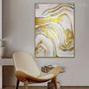 Marble Design Modern Abstract Framed Painting for Interior Wall Design