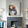 Jumbo Head Animal Modern Knife Painting for Diy Wall Decor