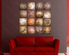 Beautiful Textured Painting - 16 Panel