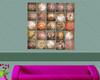 Multipanel Textured Artwork - 25 Panel