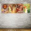 Panoramic H.LACHAMBRE Vintage Poster