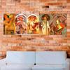 Four Seasons Alphonse Mucha Poster