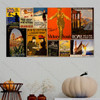 Go And Help Vintage Poster Collage