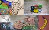Right Now Graffiti Collage