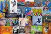 YAAM Graffiti Collage