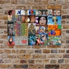 Dog Street Art Collage