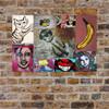 Betraying Planet Urban Street Art Collage