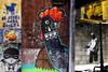 EL PERRO ANDA Urban Graffiti Collage