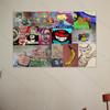 Cat Graffiti Street Art Collage