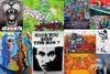 110 Special Black Graffiti Street Art Collage
