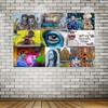 SpeelMay Urban Graffiti Collage