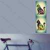 Panoramic Cat Pop Art