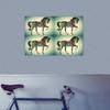Rainbow Pattern Horse