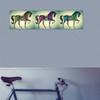 Rainbow Pattern Horse Animal 02