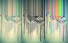 Green Base Abstract Zebra