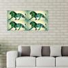 Greenish Lion Collage