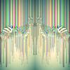 Zebra Pop Art Design