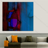 Abstract Red Blue Design