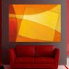 Yellow Geometric Art