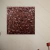 Dark Brown Texture Painting