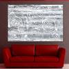 Grey Swirls Art