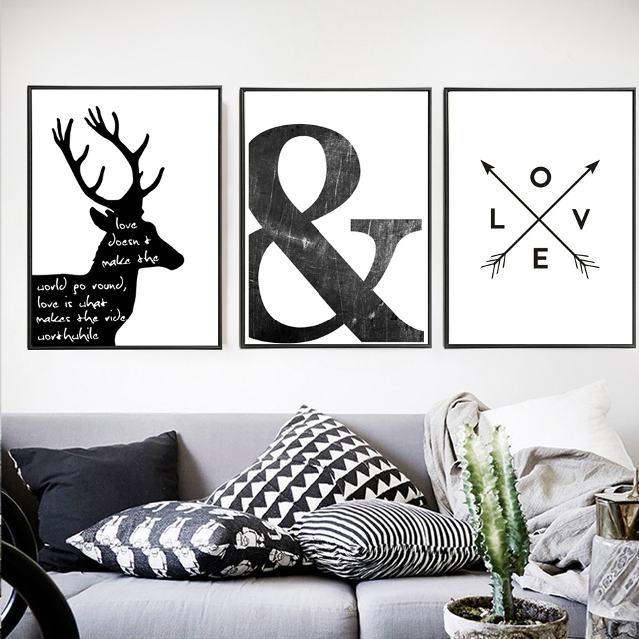 Deer, Ampersand, Love