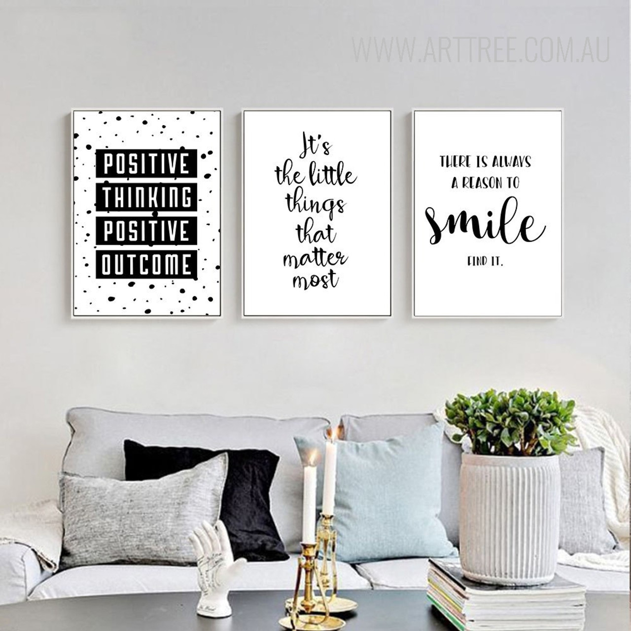 150 Best Printable Wall Art Quote Posters Nursery Kids: Positive Thinking