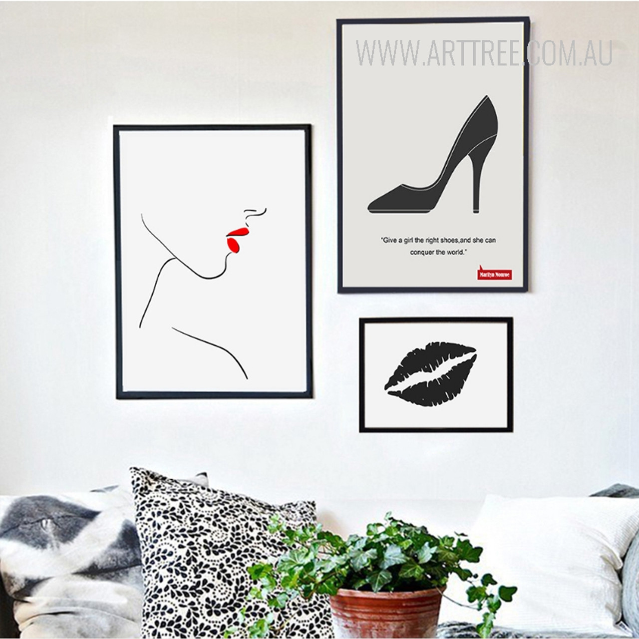 Female Legs High Heels Canvas Fashion Poster Nordic Minimalist Wall Art Print Painting Picture Girls Room Decor Home Decor