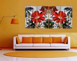 Red Calendula Floral