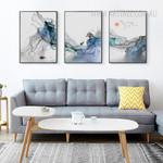 Abstract Sunrise Landscape Wall Art Canvas Prints