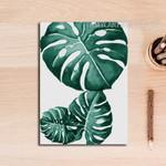 Refreshing Green Leaf Wall Art