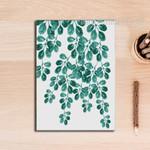 Refreshing Green Leaves Wall Art