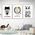 King of the Jungle Quotes Animated Wall Decor