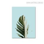 Palm Tree Leaf Botanical Painting Print