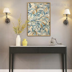 Leaves Botanical Vintage Painting Canvas Print