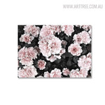 Pink Posy Nordic Floral Wall Art