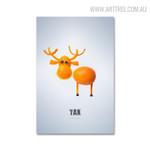 Yak Animal Abstract Creative Artwork