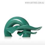Ripple Modern Abstract Resin Material Sculpture