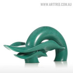 Ripple Modern Abstract Resin Material Home Décor Sculpture