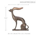 Mythological Animal Aluminum Material Sculpture Size