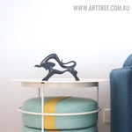 Extrados Cattle Abstract Aluminum Indoor Sculpture Australia