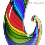 Rainbow Glass Figurine Glass Statue
