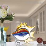 Fish Animal Figurine Glass Home Décor Sculpture Australia