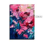 Multicolor Daubs Modern Heavy Texture Artist Handmade Abstract Wall Art